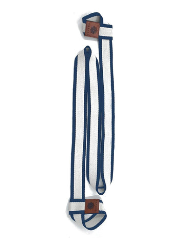 Nibbana Yoga Mat Carry Strap Blue White (4517301551146)