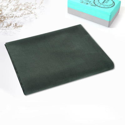 Top Quality Yoga Mats and Accessories nibbana-yoga-blanket-green 1