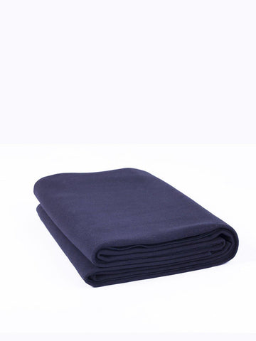 Top Quality Yoga Mats and Accessories nibbana-yoga-blanket-dark-navy-blue 1