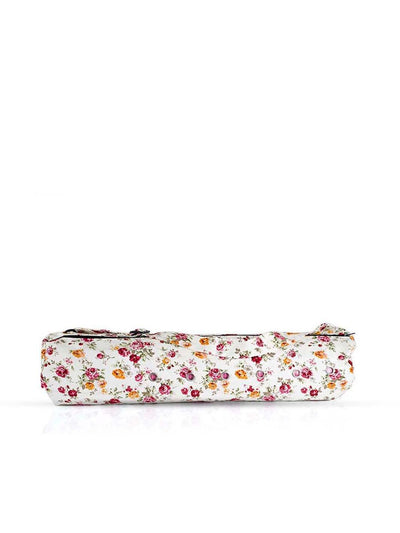 Nibbana Yoga Mat Carry Bag  Floral - Wide Opening (4552837464106)