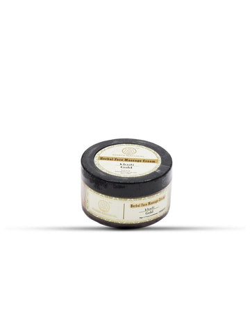 Khadi Natural Face Gold Massage Cream (4637266870314)