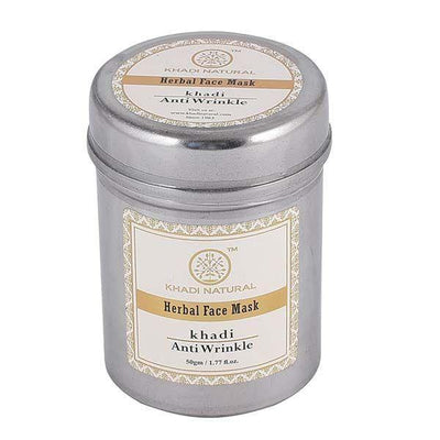 Khadi Natural Anti Wrinkle Face Mask (4637283221546)