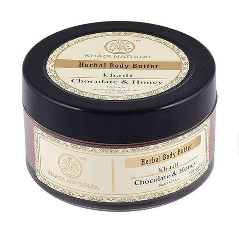 Khadi Natural Chocolate & Honey Body Butter (4637268836394)
