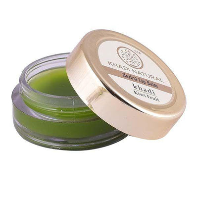 Khadi Natural Kiwi Fruit Lip Balm - With Beeswax & Honey (4637285744682)