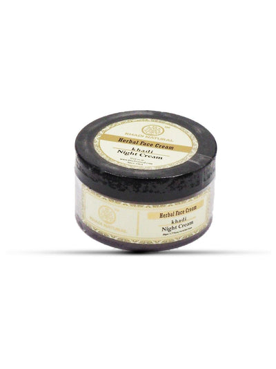 Khadi Natural Herbal Night Cream (4637293445162)
