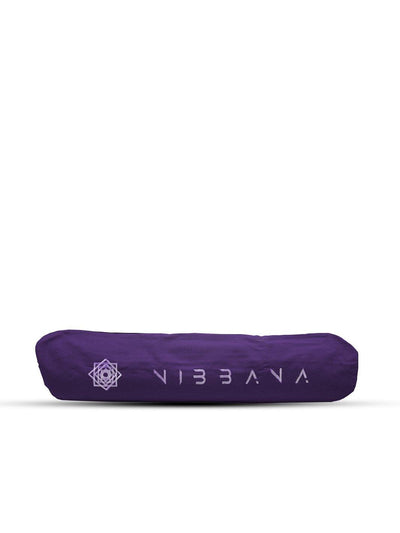 Nibbana Yoga Mat Carry Bag Purple - Wide Opening (4552835760170)