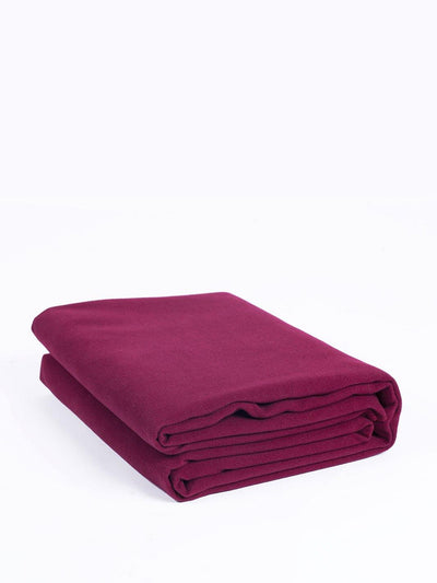 Top Quality Yoga Mats and Accessories nibbana-yoga-blanket-red 1