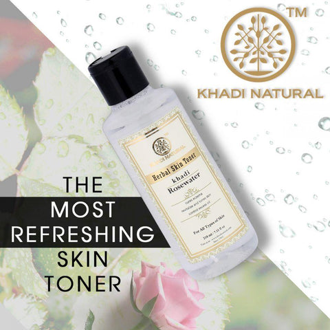 Khadi Natural Rose Water Toner (4637230235690)