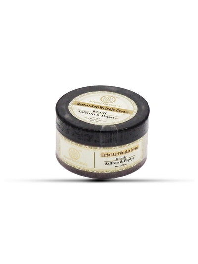 Khadi Natural Saffron & Papaya Anti Wrinkle Cream (4637272997930)