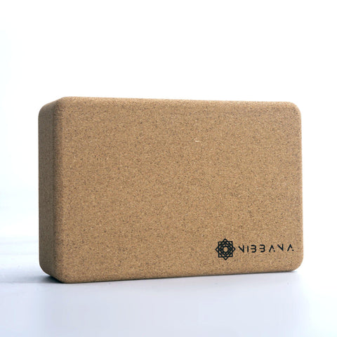 Nibbana Cork Yoga Block