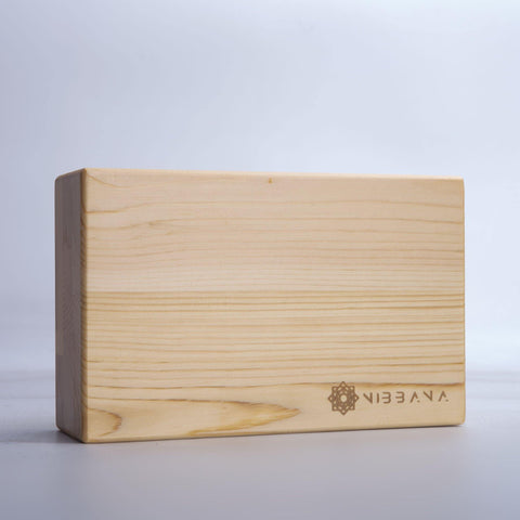 Nibbana Wooden Yoga Block
