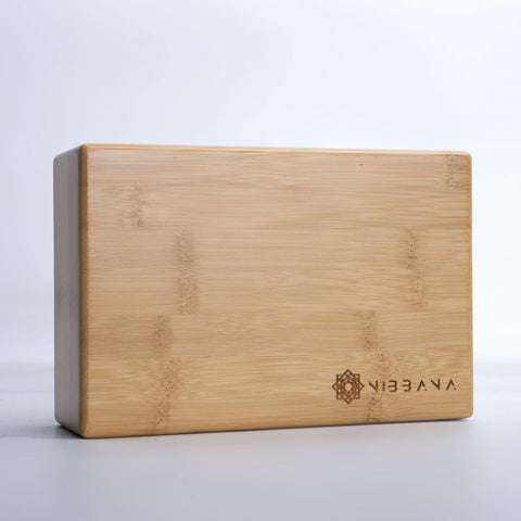 Top Quality Yoga Mats and Accessories nibbana-bamboo-yoga-block 2 (4517289295914)