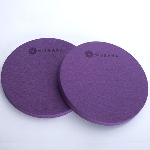 Top Quality Yoga Mats and Accessories nibbana-plank-pad-purple 1 (4517315543082)