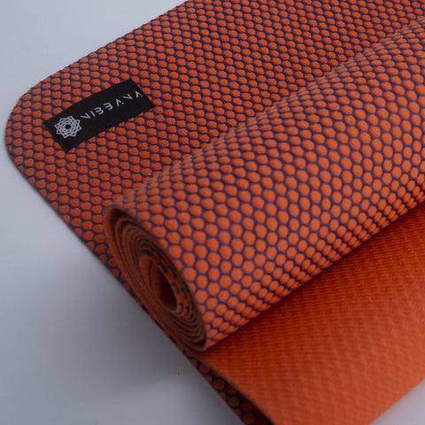 Top Quality Yoga Mats and Accessories nibbana-ace-thin-orange-yoga-mat-2mm 5 (4529025613866)