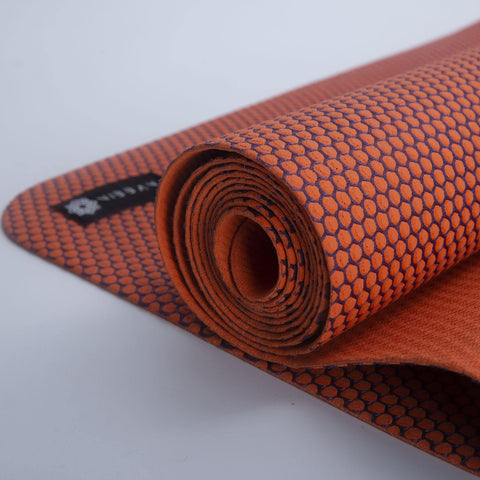 Top Quality Yoga Mats and Accessories nibbana-ace-thin-orange-yoga-mat-2mm 6 (4529025613866)