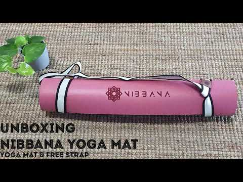 Nibbana Anti-Slip Ace Black Yoga Mat 5mm