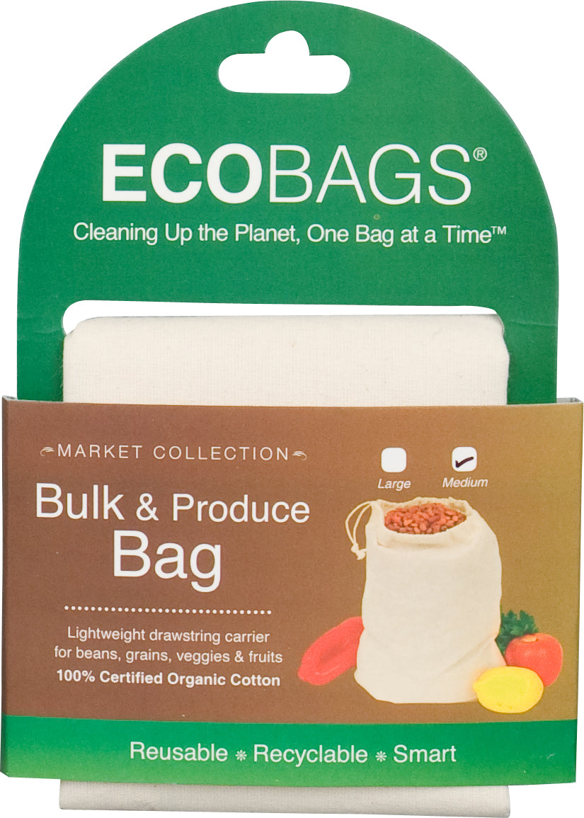 Organic Cloth Bulk & Produce bag - Medium