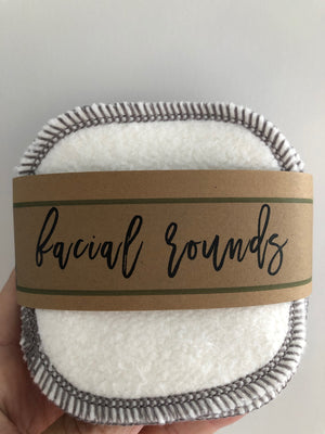 Organic Bamboo/Cotton Facial Rounds