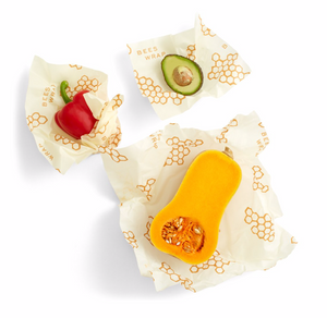 Bee's Wrap - Assorted 3 Pack - Honeycomb print