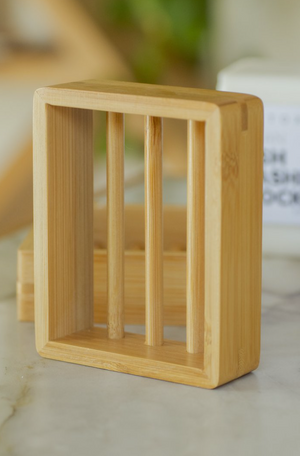 Bamboo Soap Shelf
