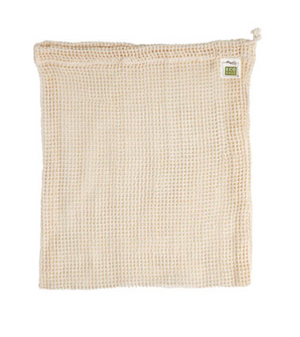 Organic Mesh Drawstring Bag - Medium