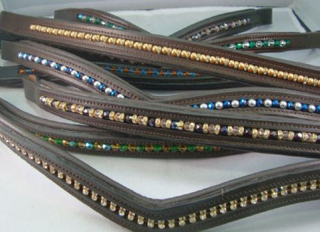 Beaded Browbands