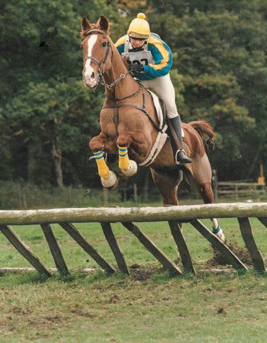 Me jumping Chance