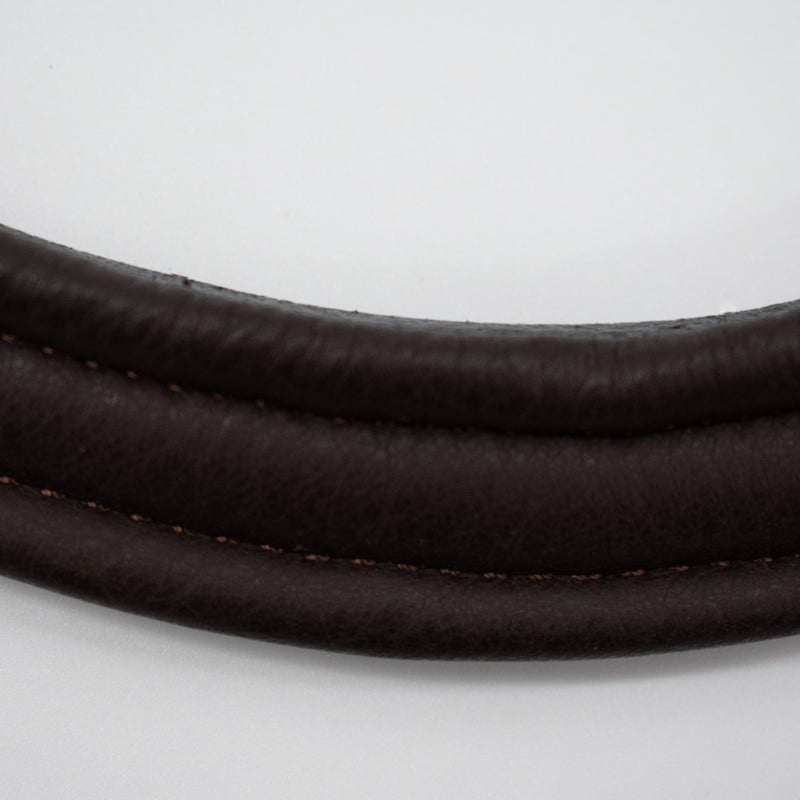 Smooth V shaped channel Browband - Browbands UK
