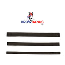 Straight  - Plain Leather Browbands