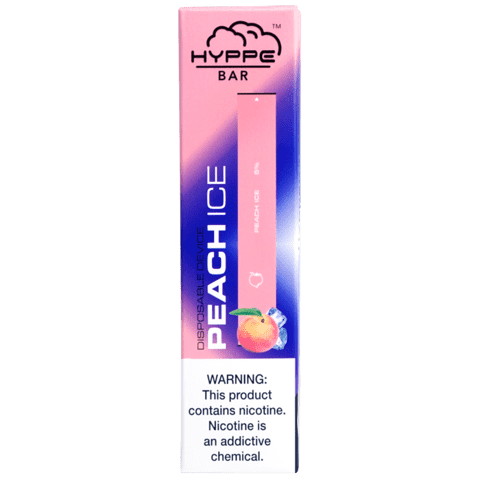 Hyppe Bar Disposable Vape Bars - Peach Ice