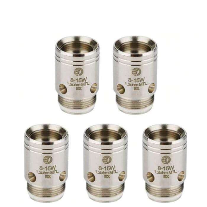 JoyeTech EX Atomizer Head Replacement Coil (5 Pack)