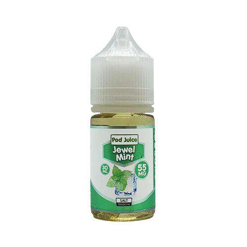 Pod Juice Salt Nic Vape Juice - Jewel Mint
