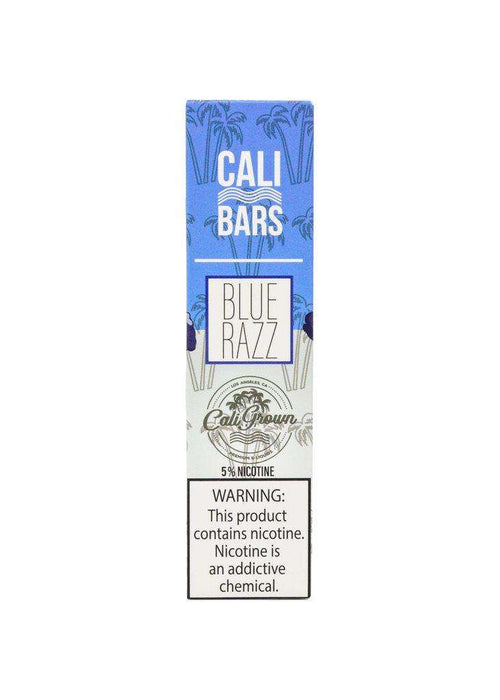 Cali Bars Disposable Vape Bars - Blue Razz