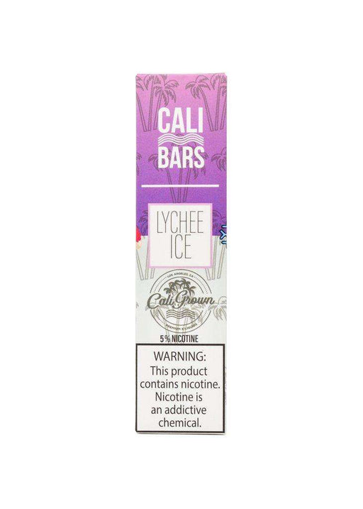 Cali Bars Disposable Vape Bars - Lychee Ice