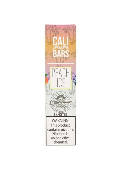 Cali Bars Disposable Vape Bars - Peach Ice