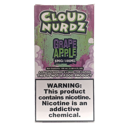 Cloud Nurdz Vape Juice - Grape Apple