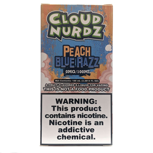 Cloud Nurdz Vape Juice - Peach Blue Razz