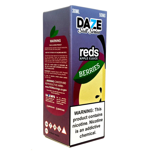 Daze Salt Series Vape Juice - Red's Apple Berries