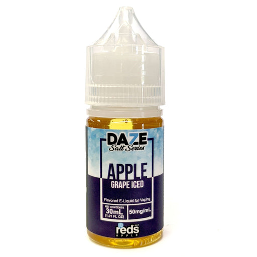 Daze Salt Series Vape Juice - Red's Apple Grape Iced