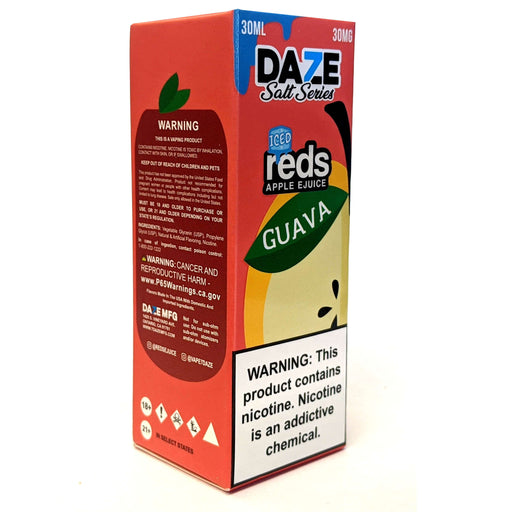 Daze Salt Series Vape Juice - Red's Apple Guava Iced