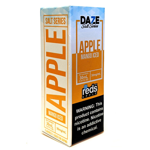 Daze Salt Series Vape Juice - Red's Apple Mango Iced