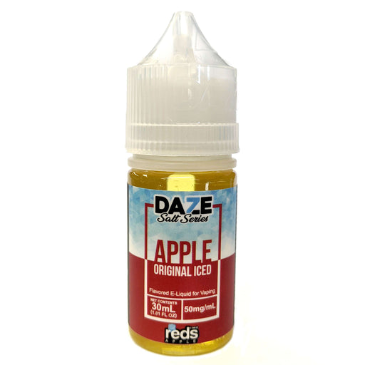 Daze Salt Series Vape Juice - Red's Apple Original Iced