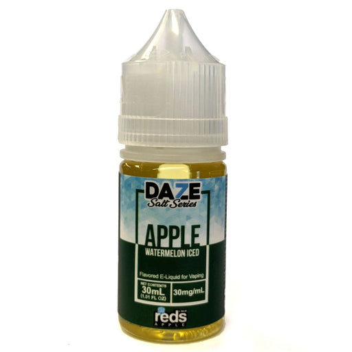 Daze Salt Series Vape Juice - Red's Apple Watermelon Iced