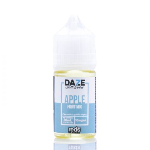 7 Daze Salt Series Vape Juice - Red's Apple Fruit Mix