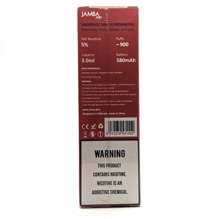 Jamba Pop Disposable Vape Pen - Caribbean Passion