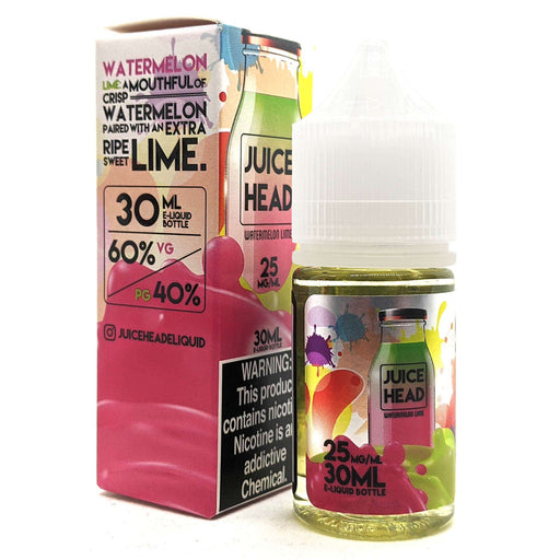 Juice Head Salt Nic Vape Juice - Watermelon Lime