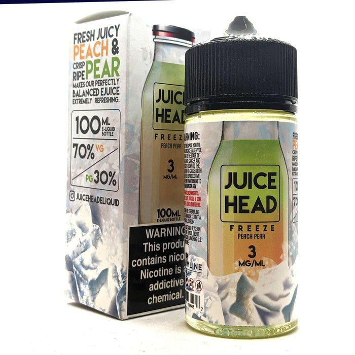 Juice Head Freeze Vape Juice - Peach Pear