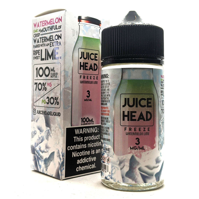 Juice Head Freeze Vape Juice - Watermelon Lime