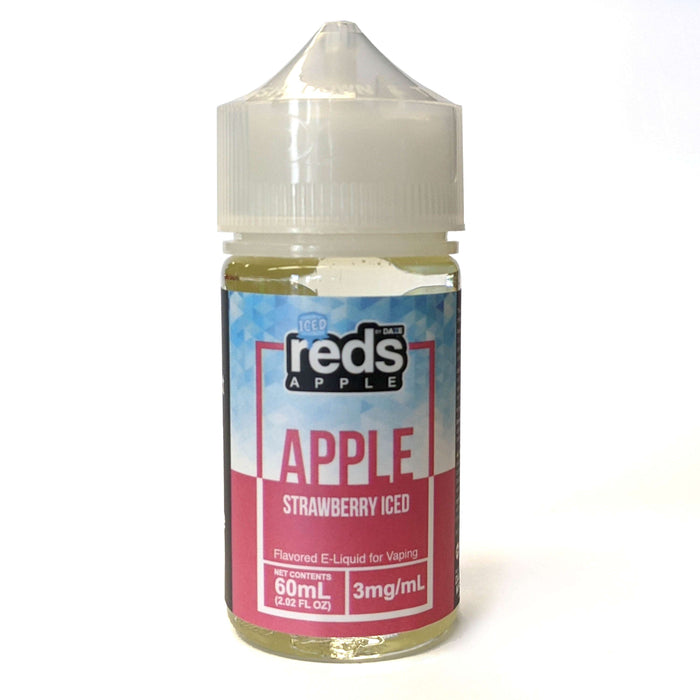 Red's Apple Vape Juice - Apple Strawberry Iced