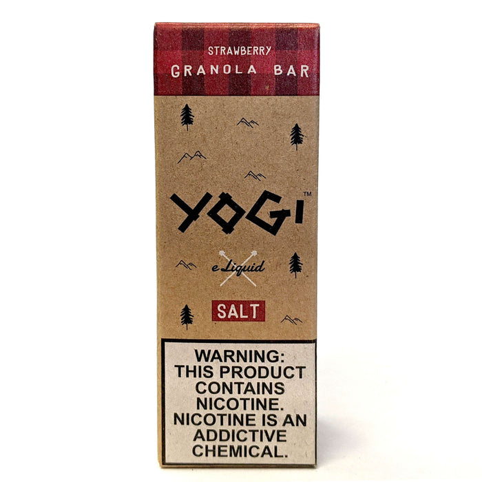 Yogi Salt Nic Vape Juice Strawberry Granola Bar